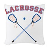 Lacrosse Throw Pillows