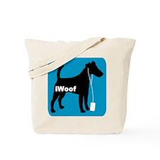 iWoof Fox Terrier Tote Bag