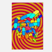 Hallucinogenic drugs, con Postcards (Package of 8)