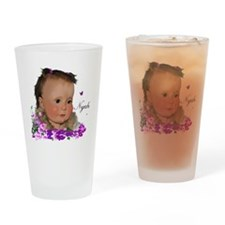 Family_NyahT Drinking Glass