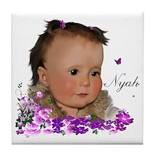 Family_NyahT Tile Coaster