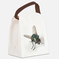 Greenbottle fly Canvas Lunch Bag