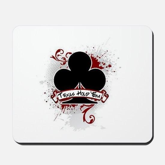 Texas Hold 'Em Club Mousepad