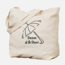 Weapon of the Stars Tote Bag