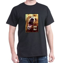 Bite Me Grizzly Black T-Shirt