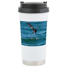 Great frigatebird and blue-foot Travel Mug