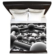 Graphite King Duvet