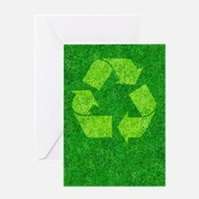 Green living, conceptual image Greeting Card