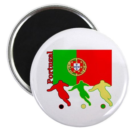 "Portugal Soccer 2.25"" Magnet (100 pack)"