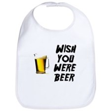 Wish You Were Beer Bib