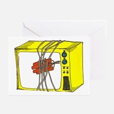 Kill Your TV! Greeting Cards (Pk of 10)