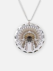 Native War Bonnet 5 Necklace