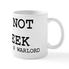 I am not a geek - 1 Mug