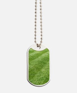 Grass lawn Dog Tags