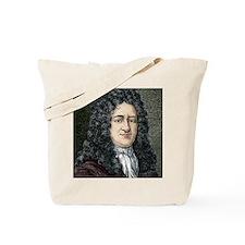 Gottfried Leibniz, German mathematician Tote Bag