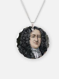 Gottfried Leibniz, German ma Necklace