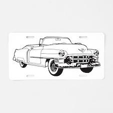 1953 Cadillac Series 62 con Aluminum License Plate