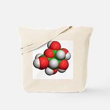 Glucose molecule Tote Bag