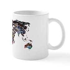 Gobal refuse, conceptual image Mug
