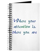 Where Your Attention Is Journal