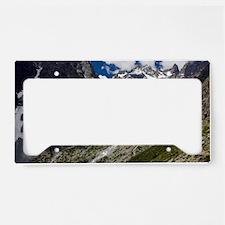 Glacier Noir and the Barre de License Plate Holder
