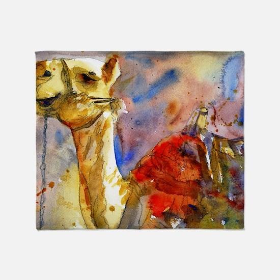Israeli Camel Throw Blanket