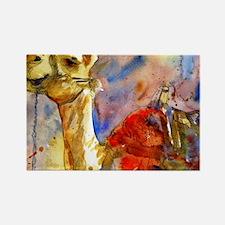 Israeli Camel Rectangle Magnet