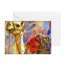 Israeli Camel Greeting Card