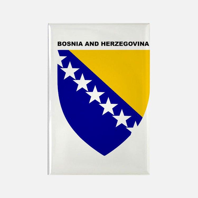 Bosnia_and_Herzegovina Rectangle Magnet