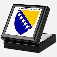 Bosnia_and_Herzegovina Keepsake Box