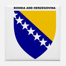 Bosnia_and_Herzegovina Tile Coaster