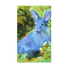 Blue Bunny Decal