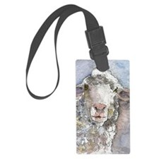 Shorn This Way, Sheep Luggage Tag