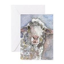 Shorn This Way, Sheep Greeting Card