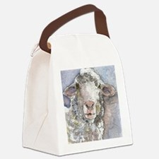 Shorn This Way, Sheep Canvas Lunch Bag