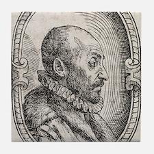 Giambattista della Porta, Italian sch Tile Coaster