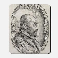 Giambattista della Porta, Italian schola Mousepad
