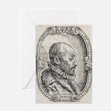 Giambattista della Porta, Italian sc Greeting Card