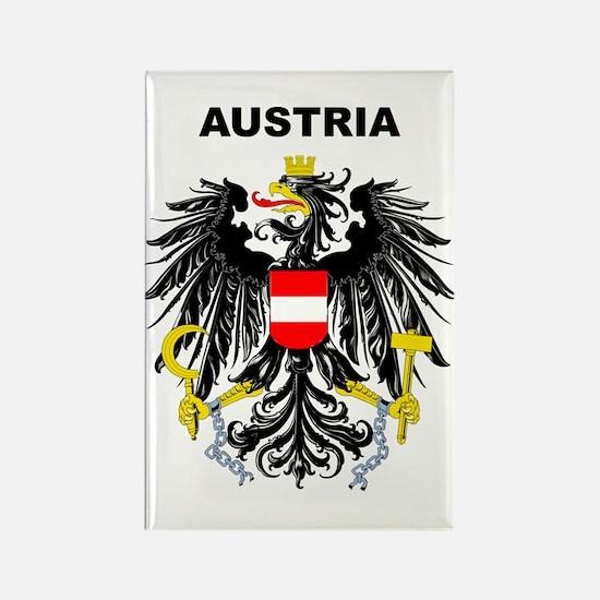Austria Rectangle Magnet
