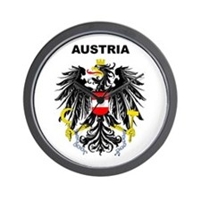 Austria Wall Clock
