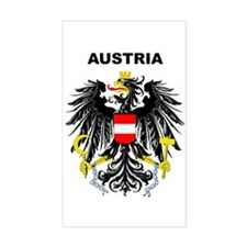 Austria Rectangle Bumper Stickers