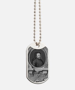 Geoffrey Chaucer, English author and poet Dog Tags