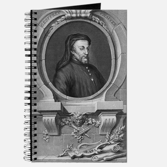 Geoffrey Chaucer, English author and poet Journal