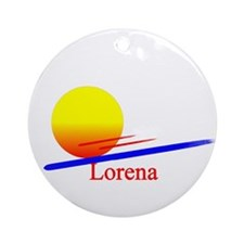 Lorena Ornament (Round)