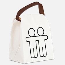 Gay Pride Love Canvas Lunch Bag