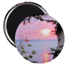Lake Superior Sunset Magnet
