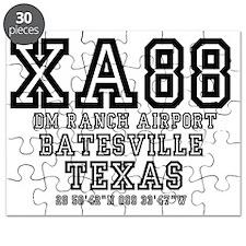 TEXAS - AIRPORT CODES - XA88 - DM RANCH AIR Puzzle