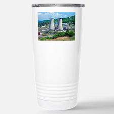 Geothermal power station, Italy Travel Mug