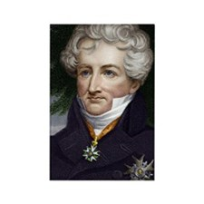 Georges Cuvier, French Zoologist Rectangle Magnet