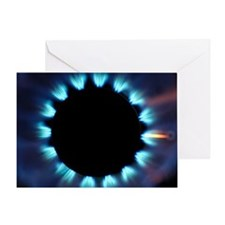 Gas hob Greeting Card
